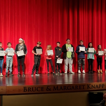 Essay Contest Winners January 2020