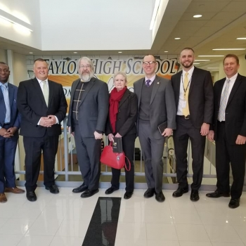 Paolo DeMaria's visit to Three Rivers