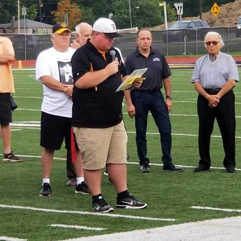 McMillan Turf Naming Event on August 30, 2019