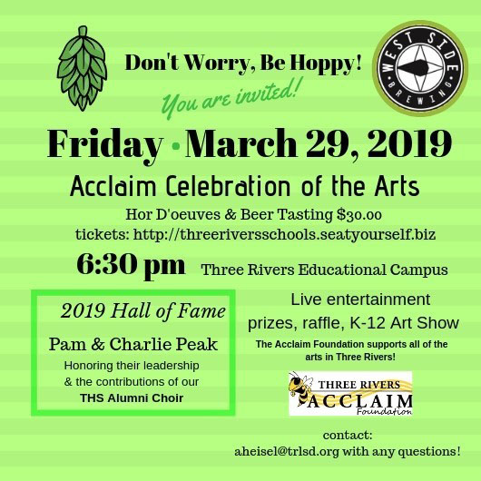 Acclaim Celebration of the Arts Event. March 29, 2019.