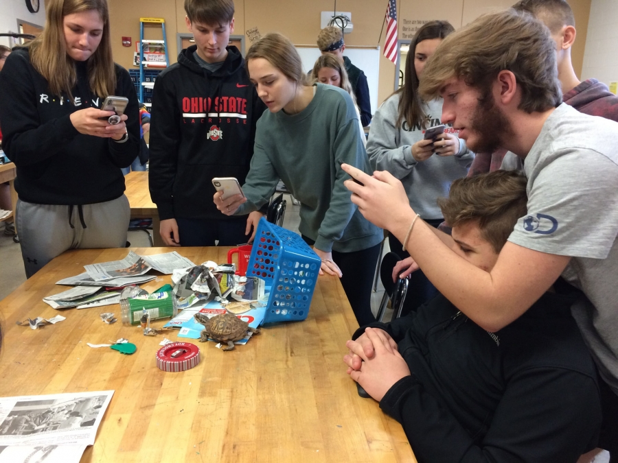 Art in Root Program at Taylor High School 2019