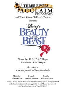 Beauty and the Beast Jr. Poster