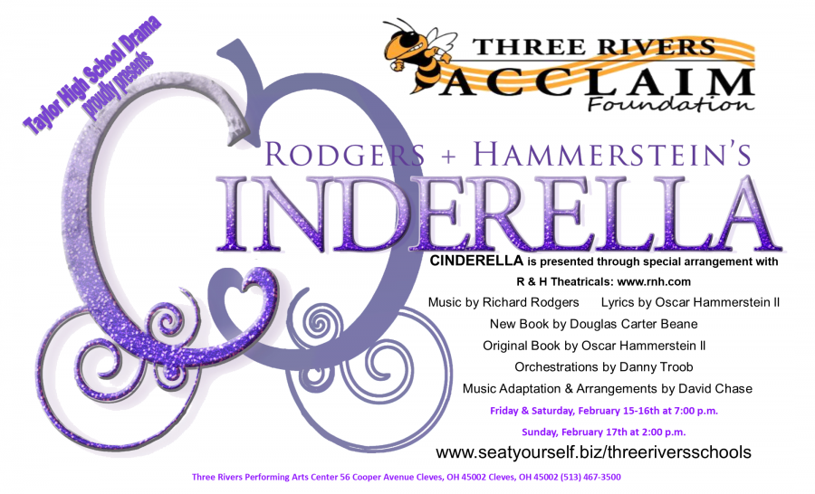 Cinderella performance on February 15, 16, and 17th.