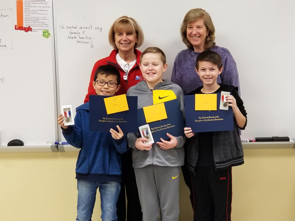 DAR essay writing contest winners