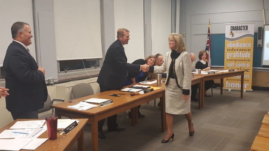 The Board of Education welcomes Alice Gundler to Three Rivers