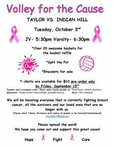 volley for the cause