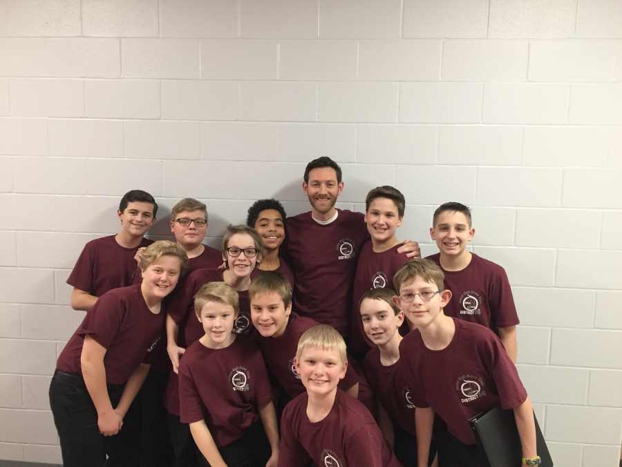 boys middle school choir