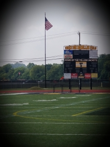Don McMillan Field sign for naming of the Taylor Football Turf