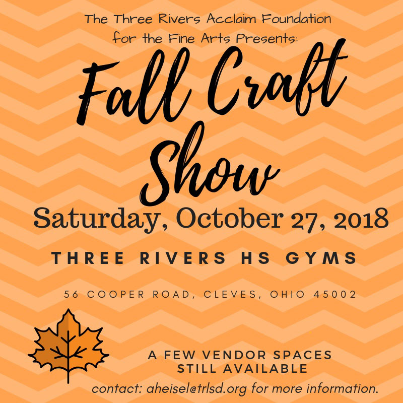 fall craft show flyer