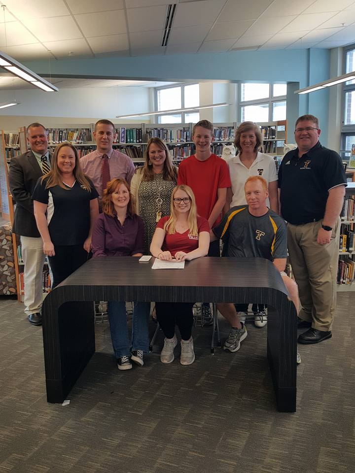 Jenna Snowden's College Signing