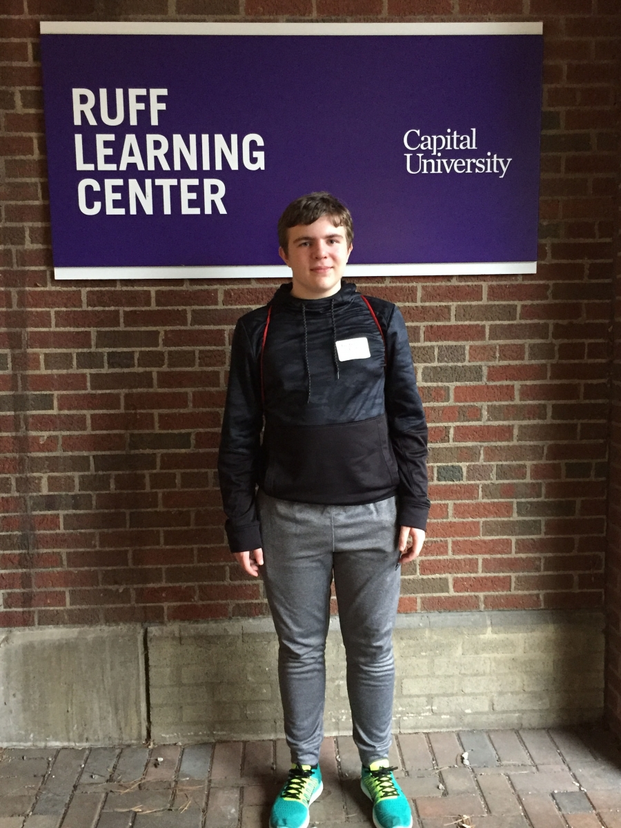Lee Garber-Ford at the Ohio High School Mathematics Invitational