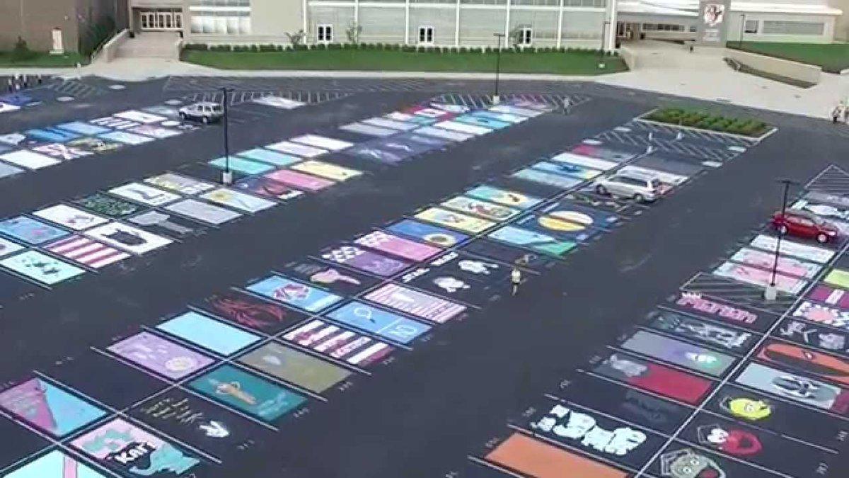High School Parking Spot Designs