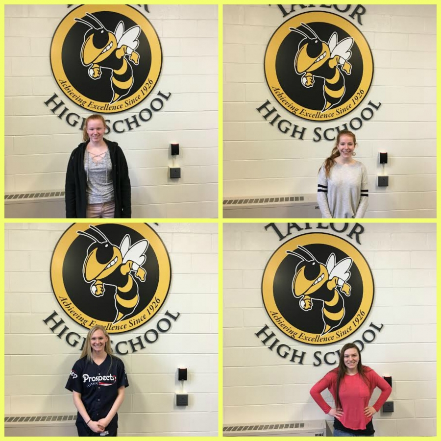 THS students of the month
