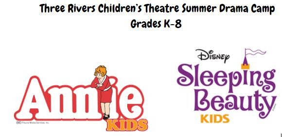 picture for Annie and Sleeping Beauty drama camp